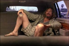 The Dude, Relaxation Within Car