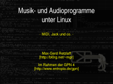 GPN4-Linux-Audio-Slides, Slide 01