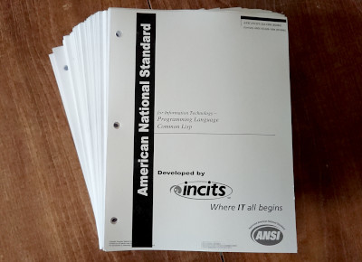 Printout of ANSI INCITS 226-1994 (R2004) (formerly ANSI X3.226-1994 (R1999)); click for a larger version (3028kB).